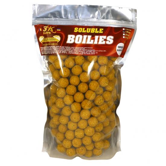 Бойл розчинний пилящий 16мм (солодка кукурудза) 0,8 кг | Інтернет-магазин «3KFisher»