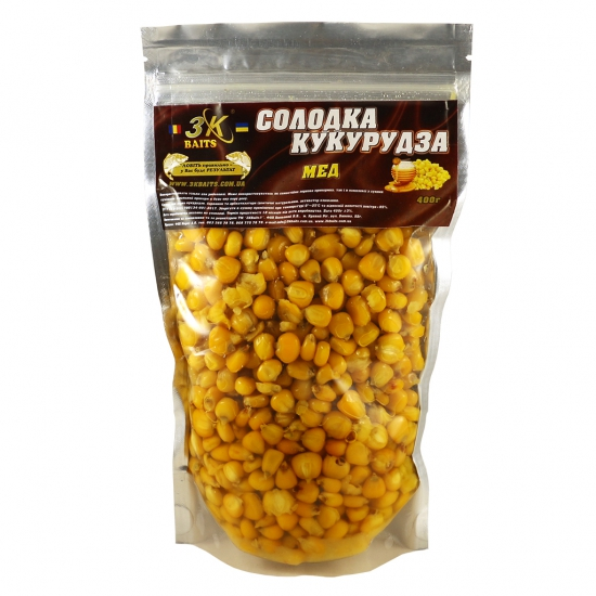 Солодка кукурудза (мед), 400г | Інтернет-магазин «3KFisher»