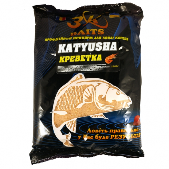"Суха суміш ""KATYUSHA"" (креветка), 1000г | Інтернет-магазин «3KFisher»"