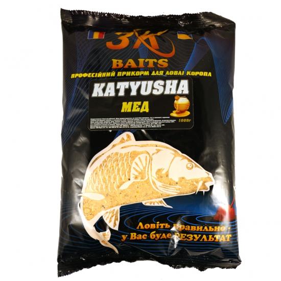 "Суха суміш ""KATYUSHA"" (мед), 1000г | Інтернет-магазин «3KFisher»"