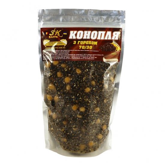Конопля з горохом (70/30), 400г | Інтернет-магазин «3KFisher»
