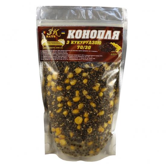 Конопля з кукурудзою (70/30), 400г | Інтернет-магазин «3KFisher»