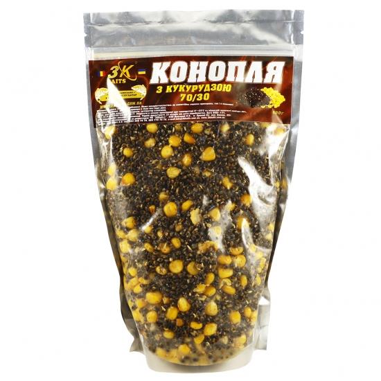 Конопля з кукурудзою (70/30), 800г | Інтернет-магазин «3KFisher»
