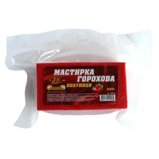 Мастирка горохова (полуниця), 200г | Інтернет-магазин «3KFisher»