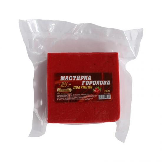 Мастирка горохова (полуниця), 400г | Інтернет-магазин «3KFisher»