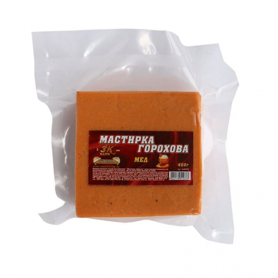 Мастирка горохова (мед), 400г | Інтернет-магазин «3KFisher»
