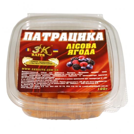 Патрацика насадна (лісова ягода), 100г | Інтернет-магазин «3KFisher»