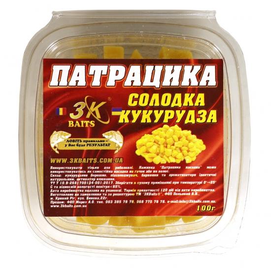 Патрацика насадна (солодка кукурудза), 100г | Інтернет-магазин «3KFisher»