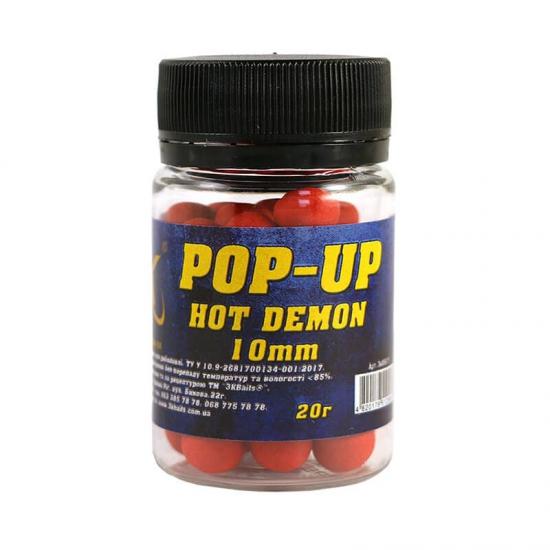 Бойл Pop-up 10мм (Hot Demon) 20г | Інтернет-магазин «3KFisher»