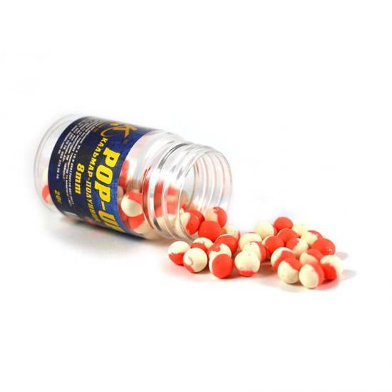 Бойл Pop-up 8мм (кальмар-полуниця) 20г | Інтернет-магазин «3KFisher»