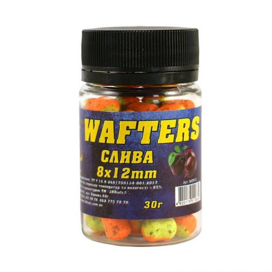 Бойл Wafters 8*12мм (слива) 30г | Інтернет-магазин «3KFisher»