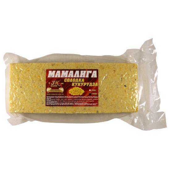 Мамалига універсальна (солодка кукурудза), 1000г | Інтернет-магазин «3KFisher»