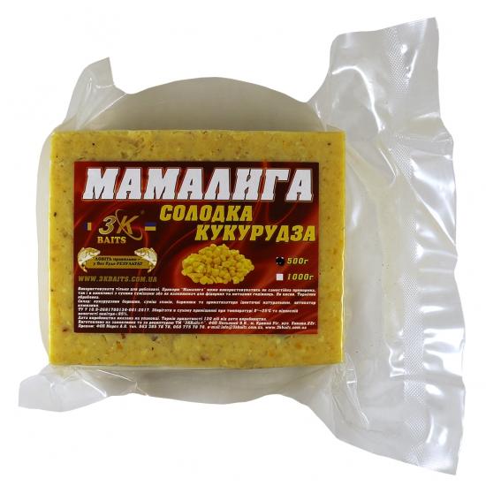 Мамалига універсальна (солодка кукурудза), 500г | Інтернет-магазин «3KFisher»