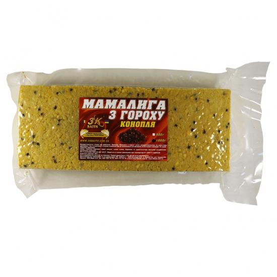 Мамалига з гороху (з коноплею), 1000г   Інтернет-магазин «3KFisher»