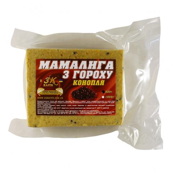 Мамалига з гороху (з коноплею), 500г | Інтернет-магазин «3KFisher»
