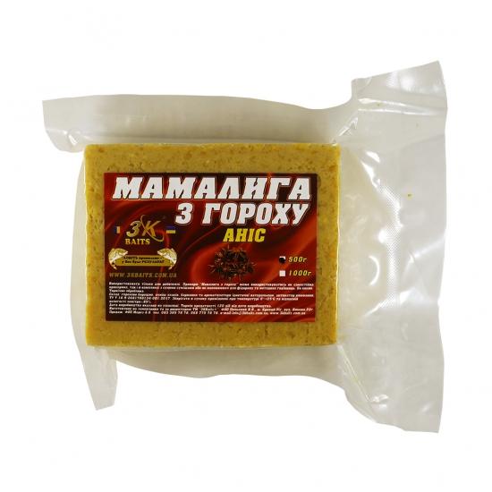 Мамалига з гороху (аніс), 500г | Інтернет-магазин «3KFisher»