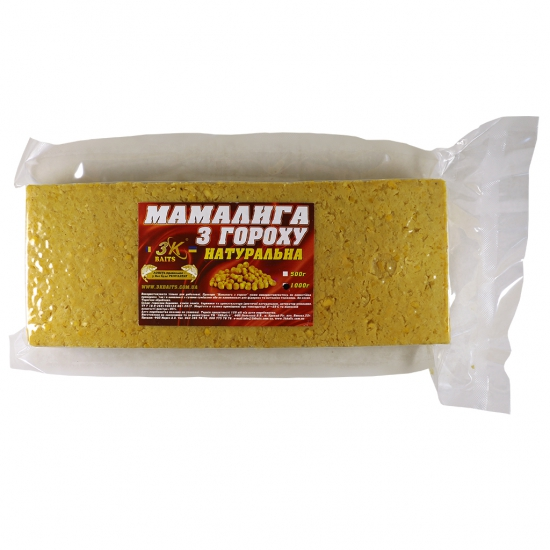Мамалига з гороху (натуральна), 1000г | Інтернет-магазин «3KFisher»