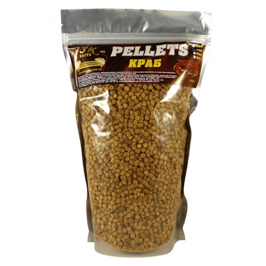 Pellets 4мм (краб) 0,8 кг | Інтернет-магазин «3KFisher»
