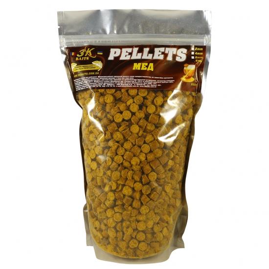 Pellets 8мм (мед) 0,8 кг | Інтернет-магазин «3KFisher»